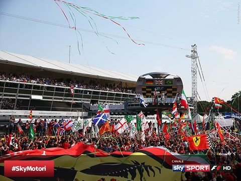 Da oggi via al weekend del GP d'Italia in TV