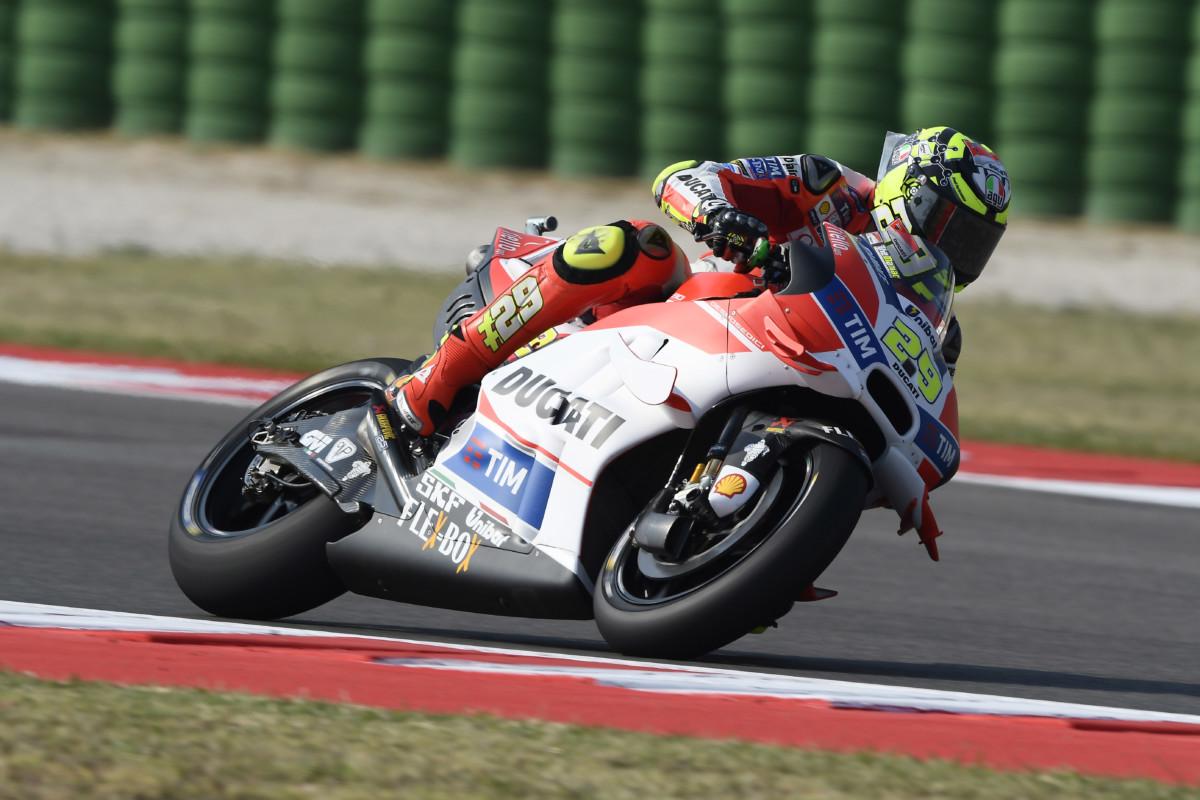 MotoGP: niente da fare per Iannone, al suo posto Pirro