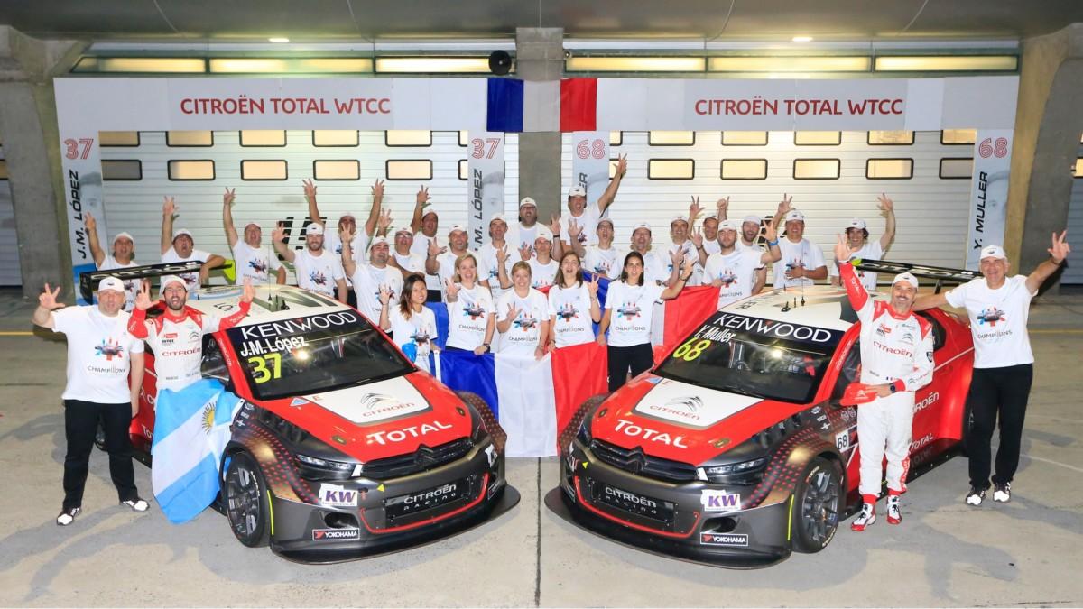 WTCC: terzo Titolo consecutivo per Citroën