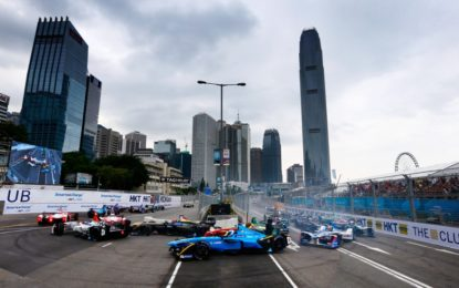 Formula E: Buemi holds on in Hong Kong