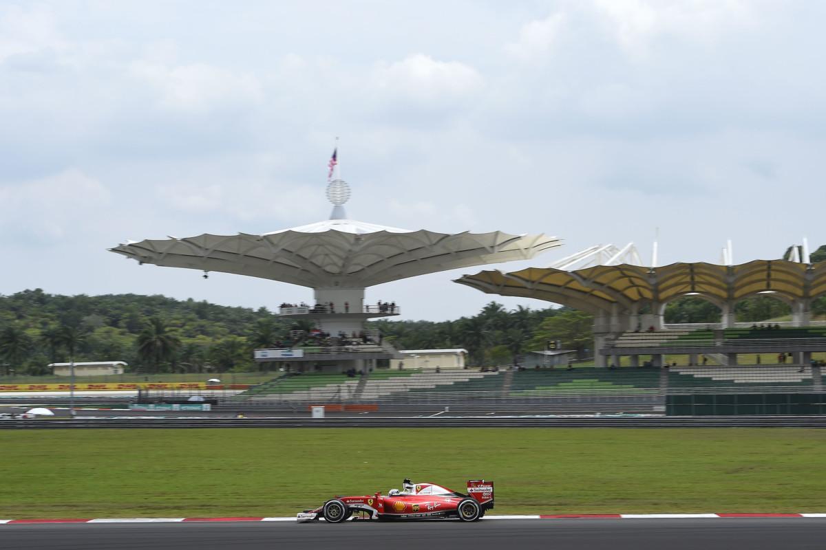 GP Malesia: terza fila per la Ferrari