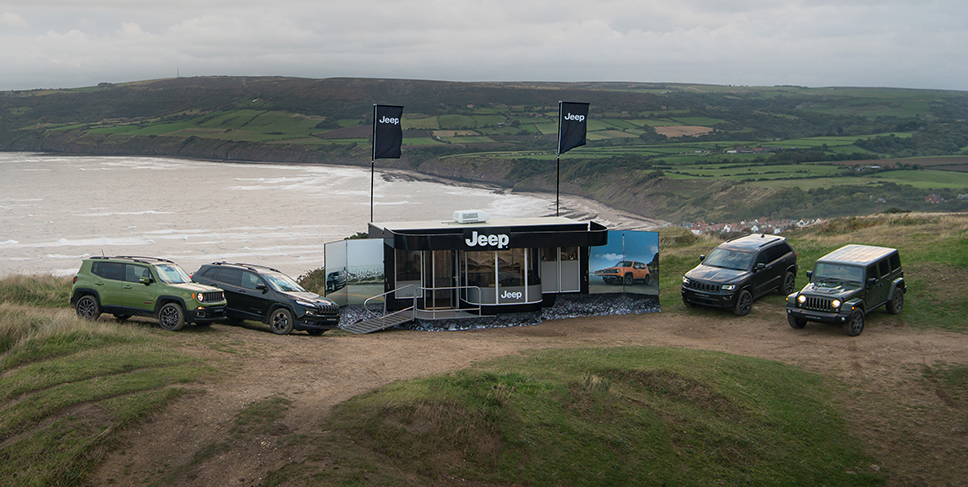 Jeep: primo punto vendita da 4×4