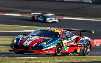 WEC: seconda fila per le Ferrari 488 GTE al Fuji