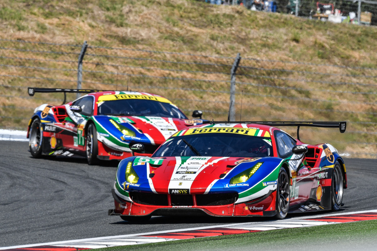 FIA WEC: Ferrari sul podio e di nuovo in testa nel Costruttori