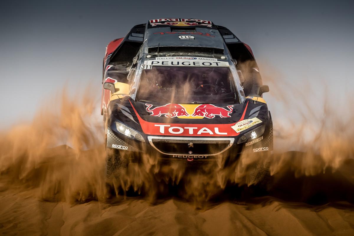 Prima vittoria della Peugeot 3008 DKR in Marocco