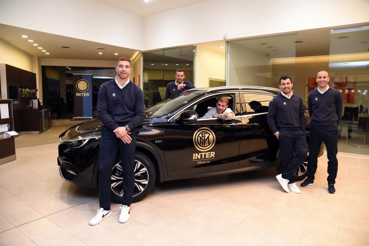 L'Inter sceglie le prestazioni e l'eleganza Infiniti