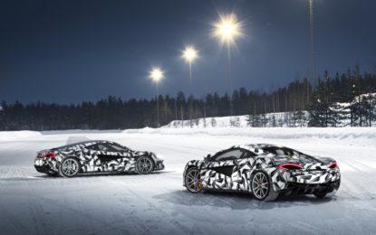 Pure McLaren lancia la prima ice driving experience