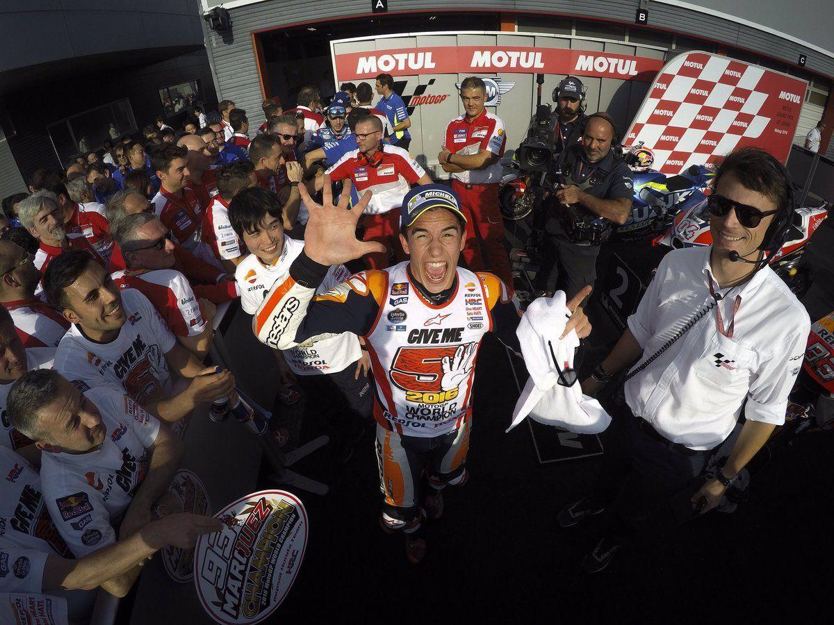 Giappone: Marquez vince e diventa Campione! #GiveMe5