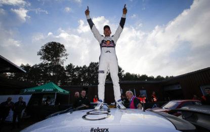 Mattias Ekström FIA World Rallycross Champion