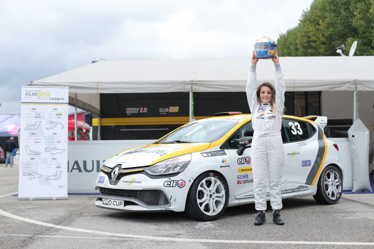 Alessandra Brena regina della Clio Cup Press League