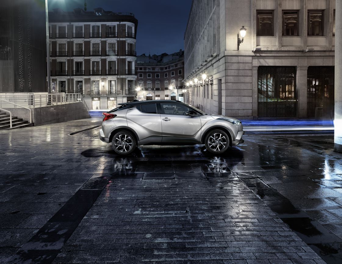 Toyota C-HR nell'outlet di Noventa
