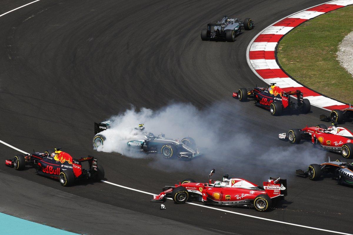 GP Malesia: pareri e reazioni sul caos alla prima curva