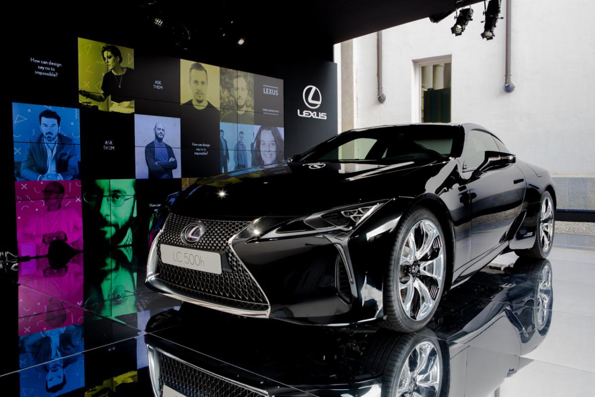 Lexus LC500h : SayNoToImpossibile