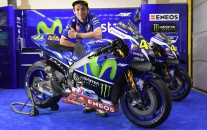 Valentino Rossi con livrea speciale Eneos in Malesia