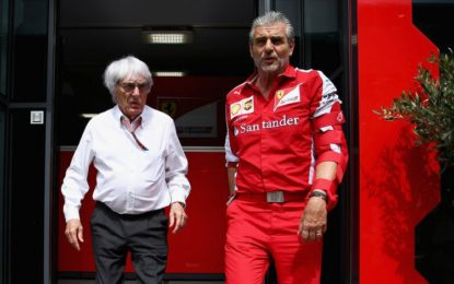 Ecclestone loda la sportività Ferrari