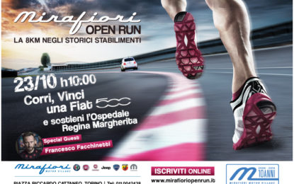 Mirafiori Open Run: 8 km per i bambini