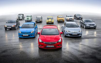 Gli 80 anni di Opel Kadett