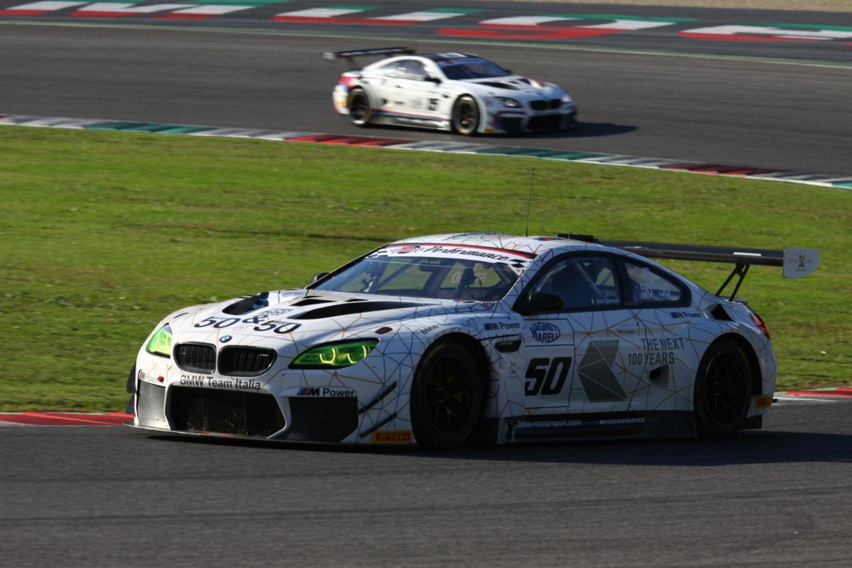 Zanardi 6° all'esordio con la BMW M6 GT3