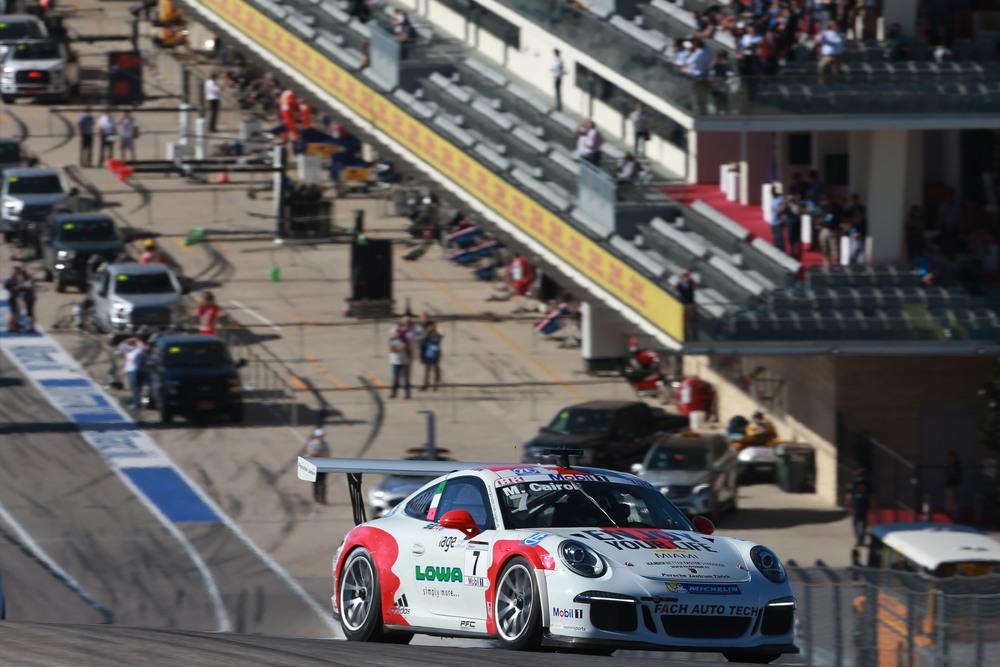 Porsche Supercup: sfortuna per Cairoli in Gara 1