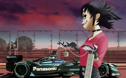 Noodle Global Ambassador Panasonic Jaguar Racing