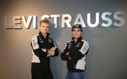 Levi's partner di Sahara Force India