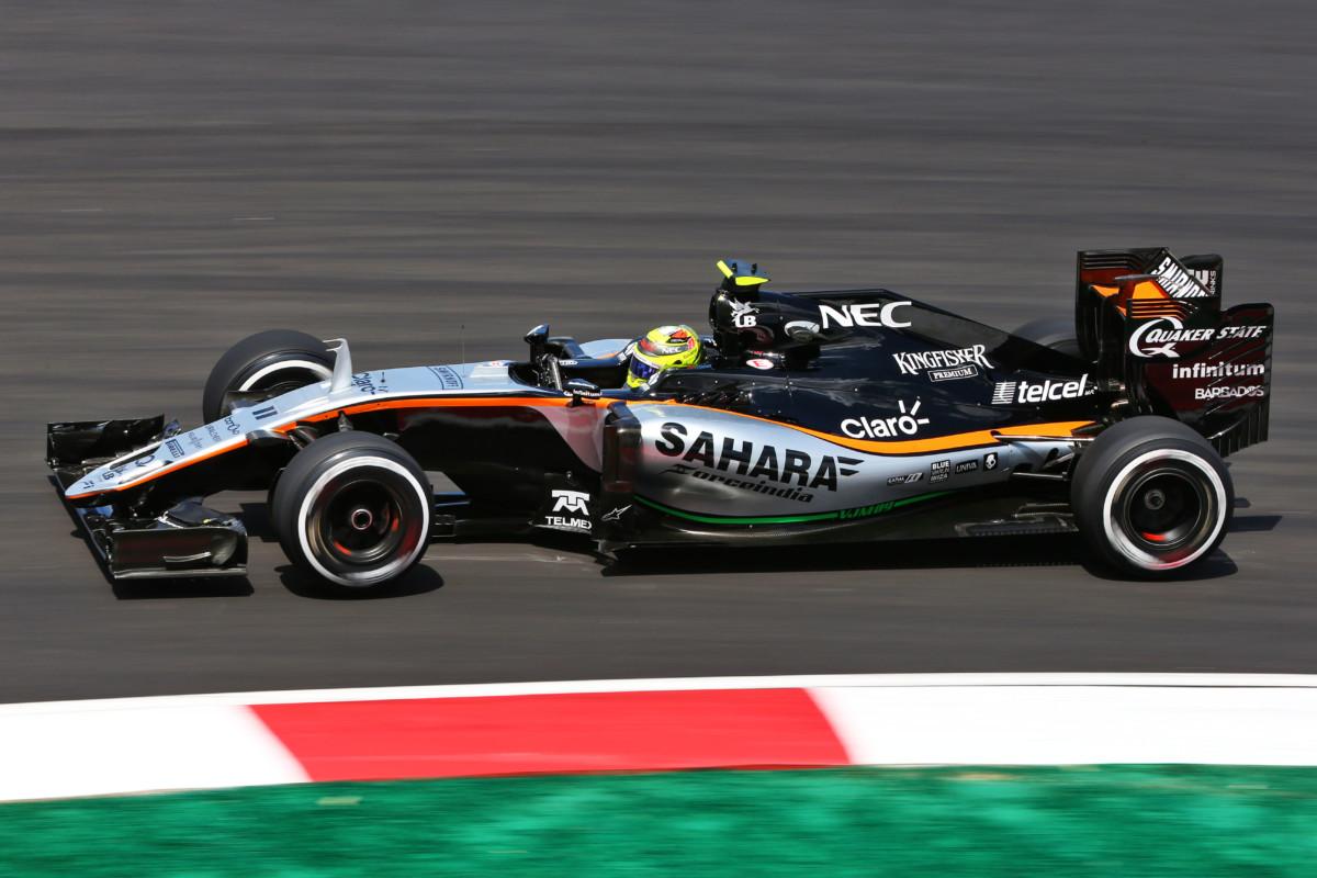 Sergio Perez in Sahara Force India anche nel 2017