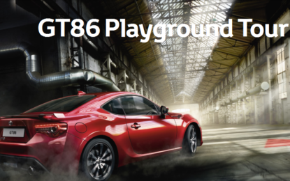 Toyota GT86 MY2017 in tour