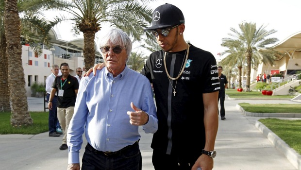"""Ecclestone: """"Niente contro Nico, ma Lewis è meglio per la F1"""""""