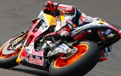 MotoGP: Marquez più veloce nel venerdì di Sepang