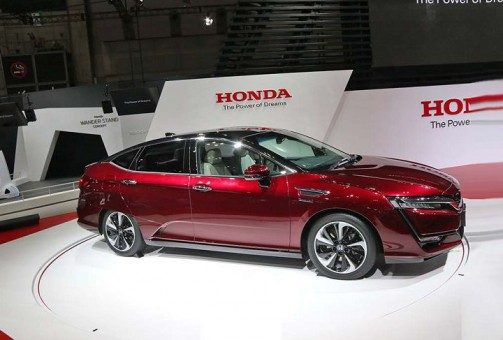 Honda Clarityfuelcell: autonomia record