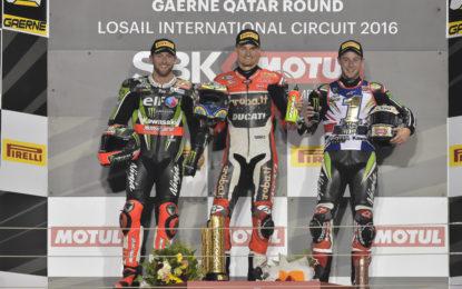 Concluso in Qatar il Mondiale Superbike 2016