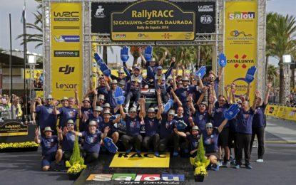 WRC: vittoria e 4° Titolo consecutivo per Ogier e Ingrassia