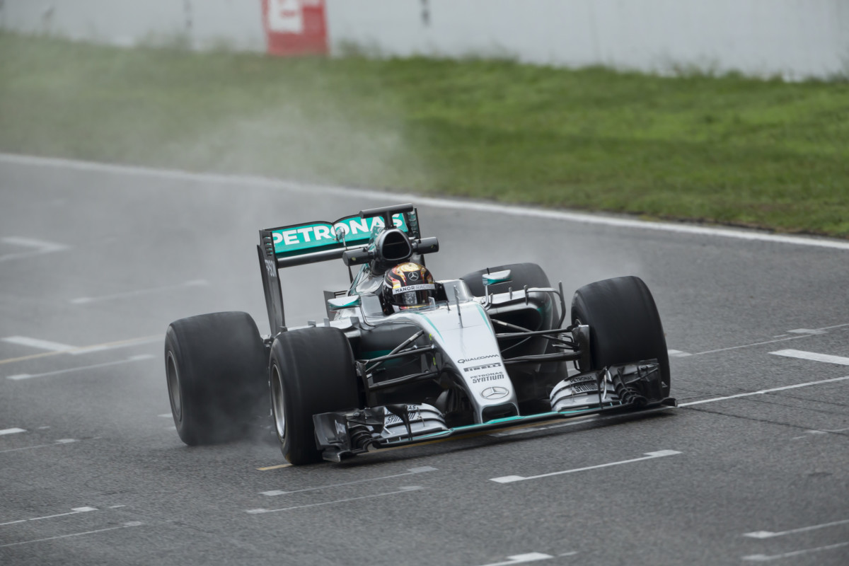 Conclusi i test Pirelli/Mercedes a Barcellona