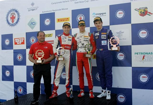 Italian F4: Mick Schumacher vince Gara 1 a Monza