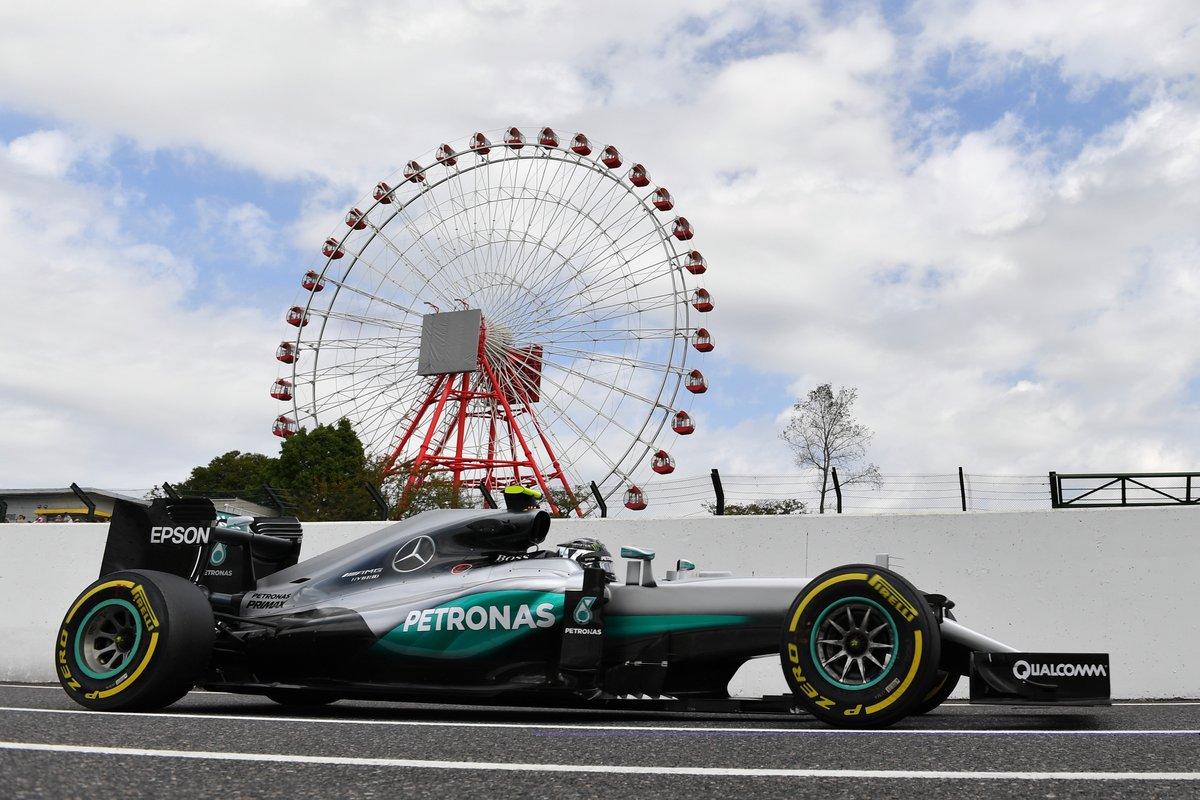 GP Giappone: Rosberg-Hamilton nelle libere