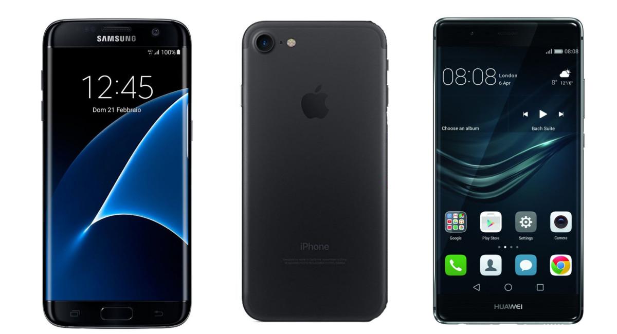 Smartphone, sfida tra titani