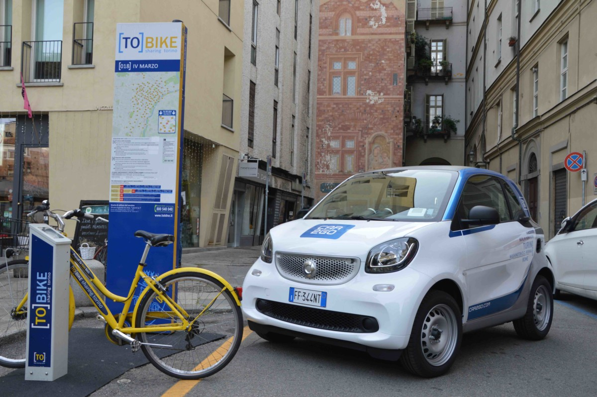 [TO]BIKE e car2go per una mobilità intermodale