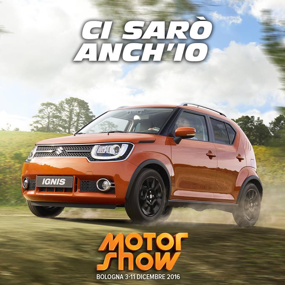 Suzuki Ignis e le altre al Motor Show di Bologna