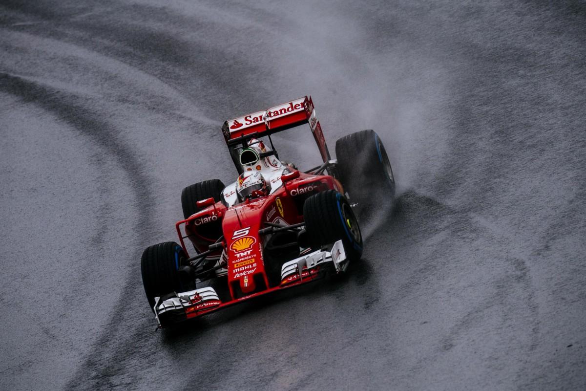 GP Brasile: Vettel 5°, Raikkonen miracolato