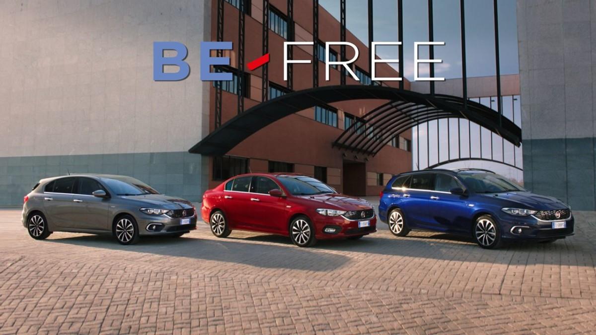 BE-FREE per Fiat Tipo: stesso canone per tutta la gamma