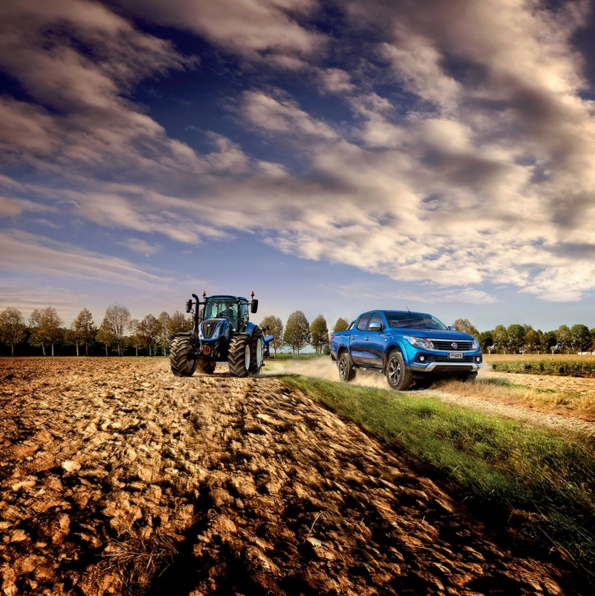 Fiat Professional e New Holland Agriculture all'EIMA 2016