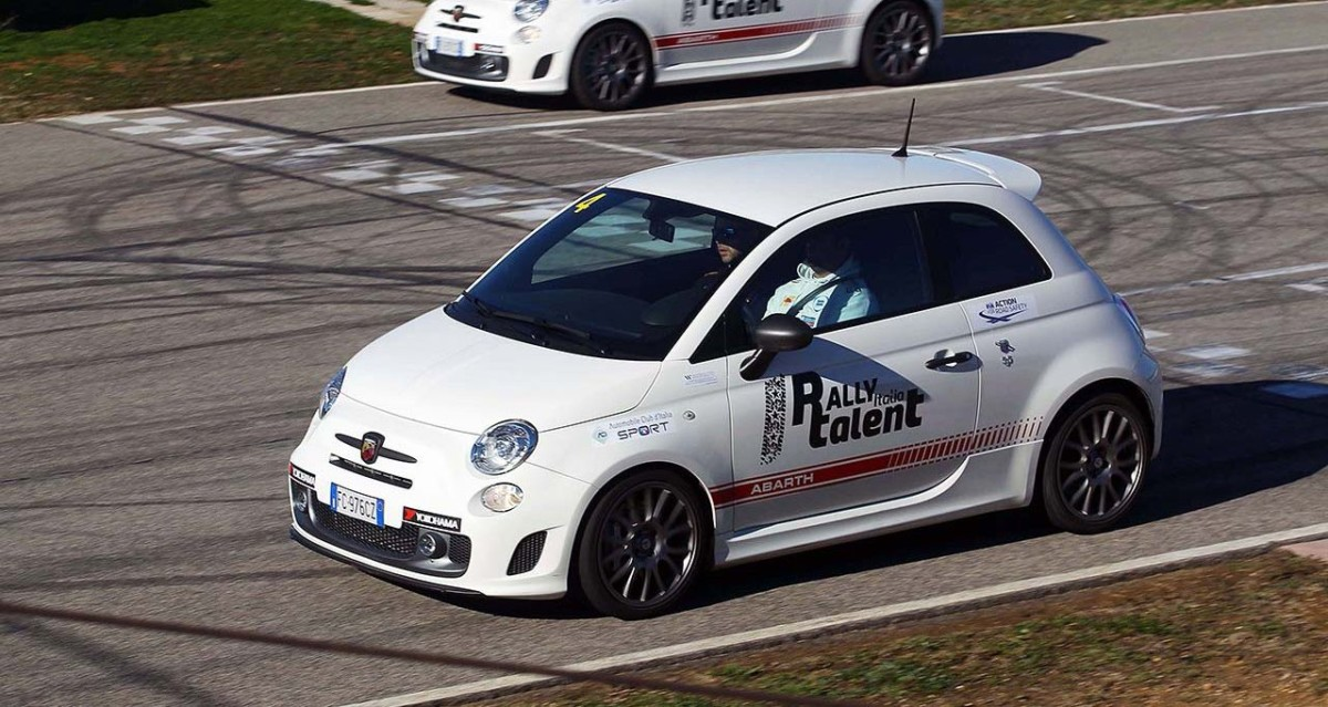 ACI Rally Italia Talent 2017 targato Abarth