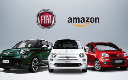 Al via la collaborazione tra FCA e Amazon