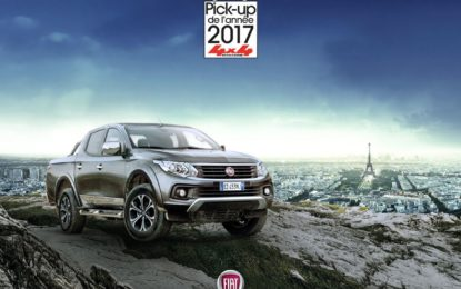 "Fullback ""Pick-up dell'anno 2017"""