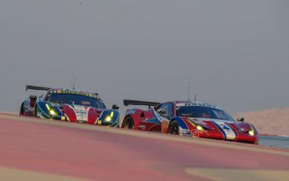 WEC: Ferrari 3° e 5° nelle qualifiche in Bahrain