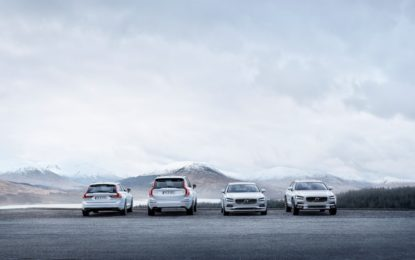 Volvo: novità per i modelli della Serie 90