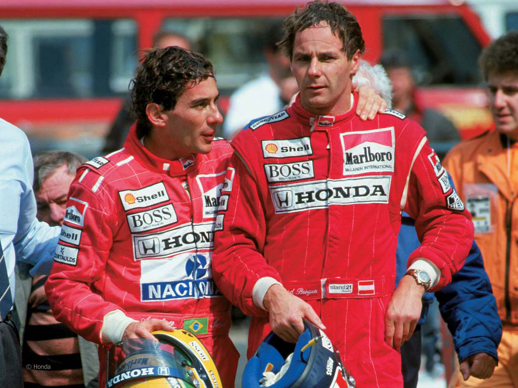 """Berger: """"Verstappen è il primo che mi ricordi Senna"""""""