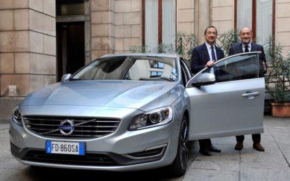 Una Volvo V60 Twin Engine per il sindaco di Milano