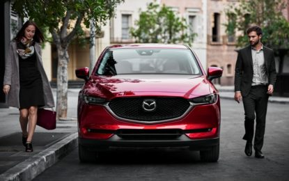 Nuova Mazda CX-5: debutto a Los Angeles
