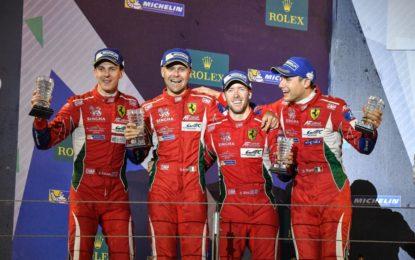 WEC: Ferrari Campione Costruttori GT
